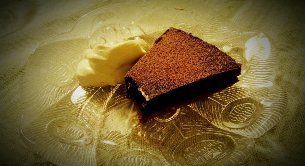 Chokladtryffelkaka