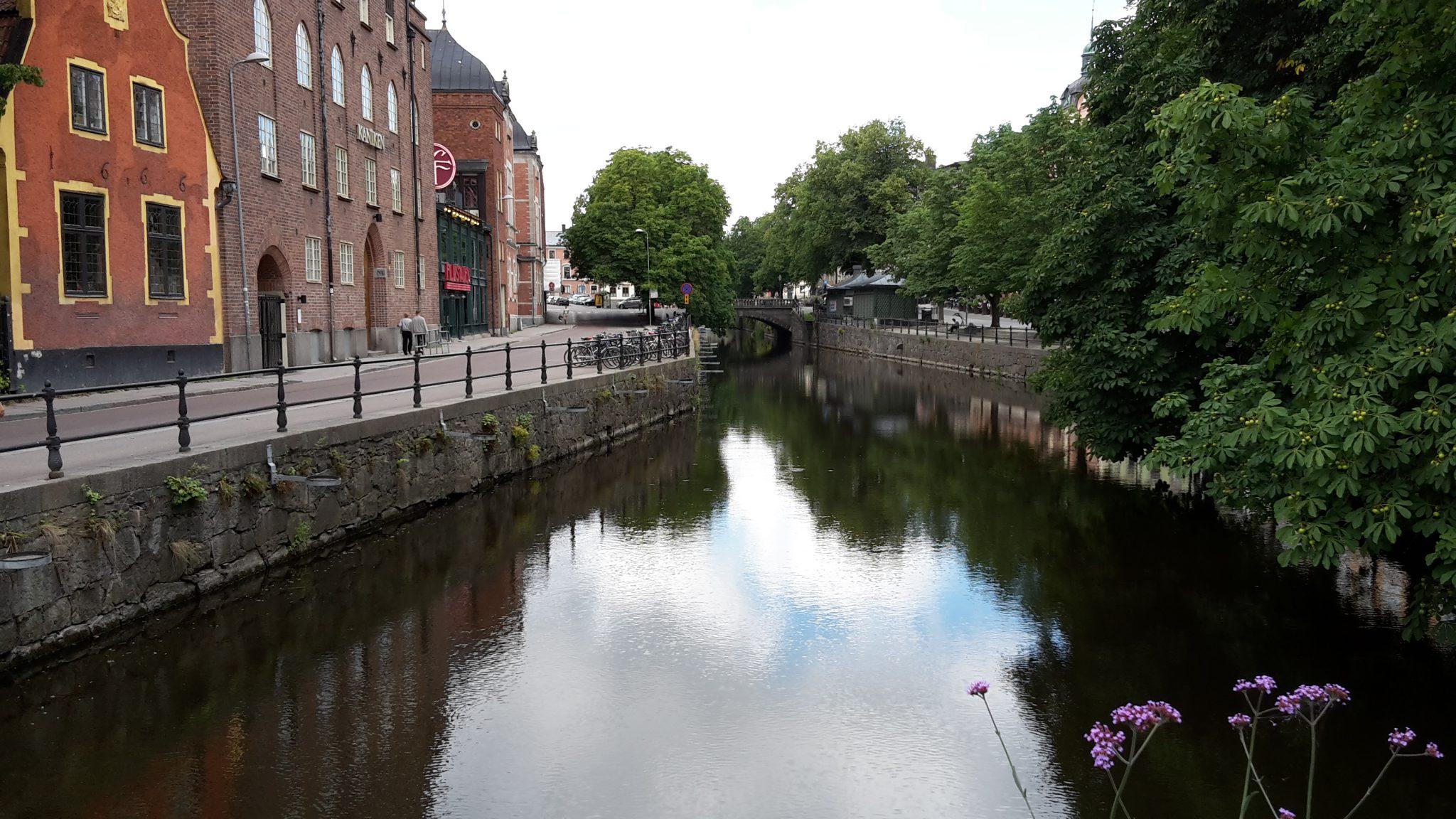 Från en av Uppsalas många broar