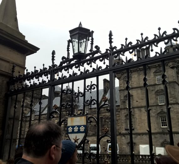 En dag i Edinburgh