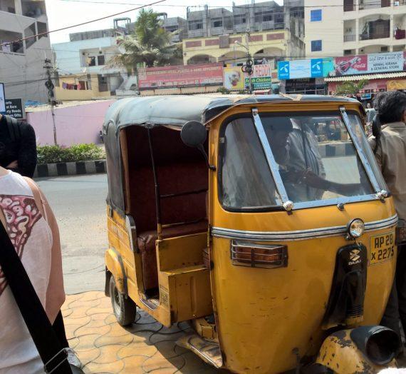 Bussresa till Vijayavada och Tenali