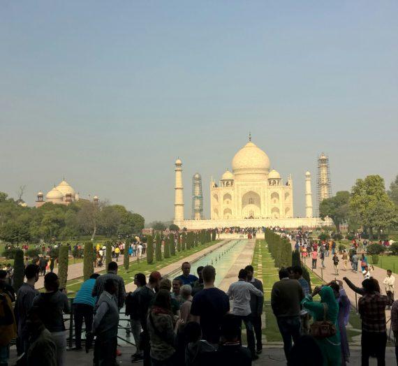 Agra och Taj Mahal