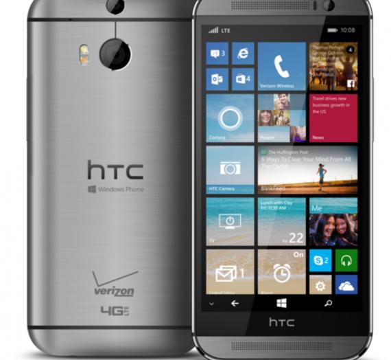 HTC One (M8) Windows phone